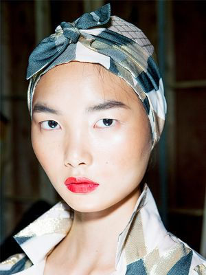This Glowy-Skin Giver Was Everywhere at London Fashion Week