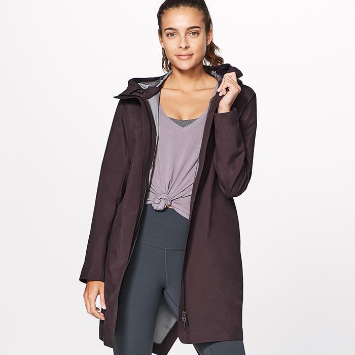 lululemon raincoats