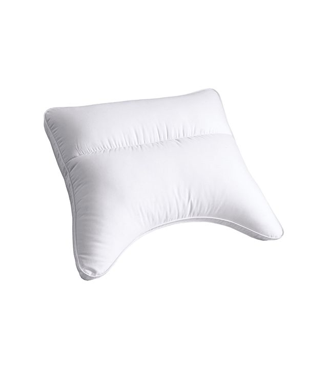 Cuddletown Synthetic Fill Contour Cradle Gusseted Pillow