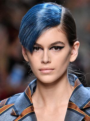 It's True: Fendi's Runway Models Just Made '80s Hair Cool Again