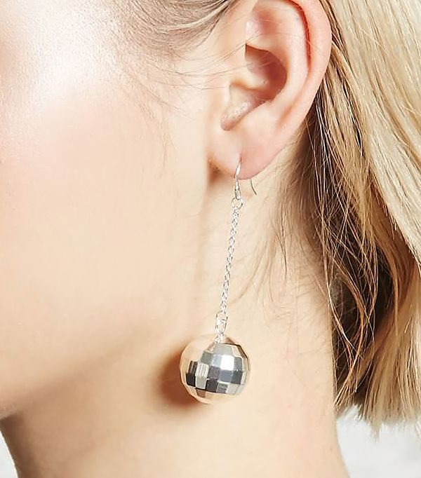Disco Bauble Drop Earrings