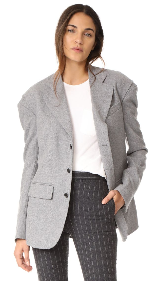 Blazer with Gusset
