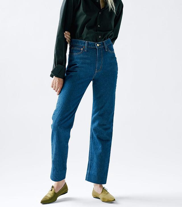 B Sides Arts Straight Jeans Nancy