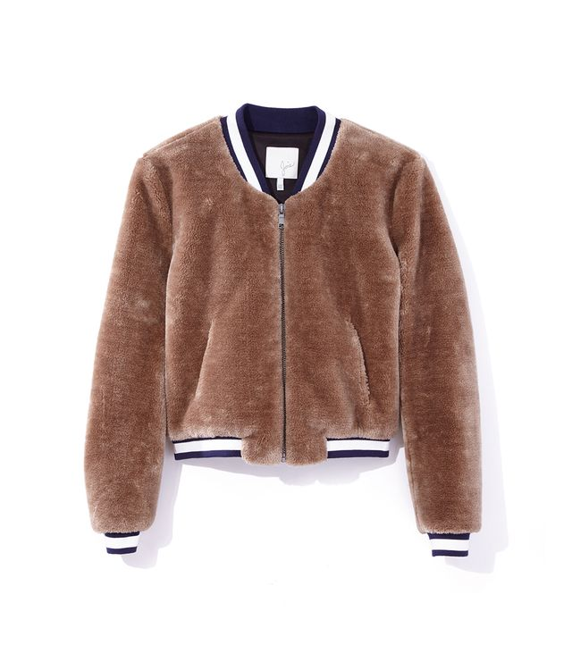 Joie Arleigh Faux Shearling Bomber