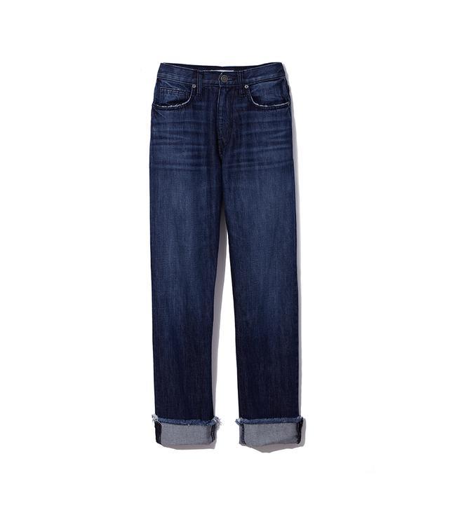 Joie Josie Danseur Cotton Straight Leg Cuffed Jeans