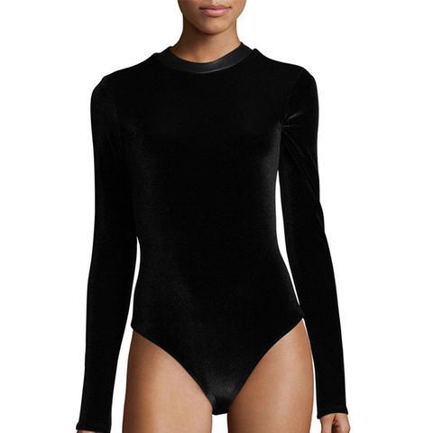 Carlisle Velvet Bodysuit