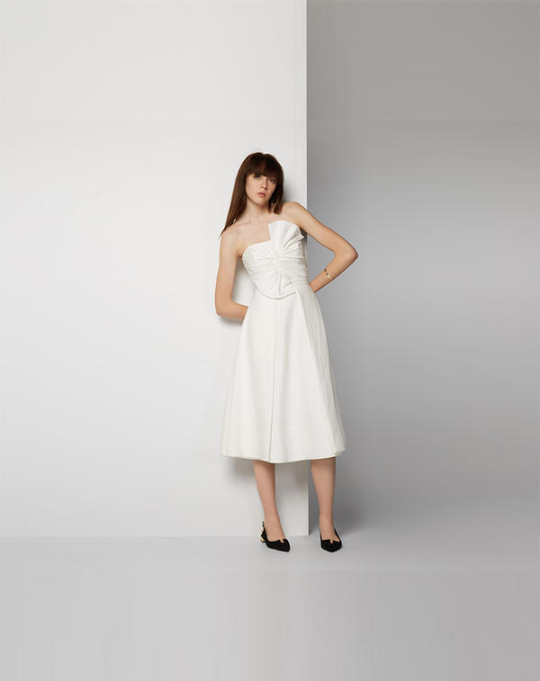 The best wedding dresses for short brides whowhatwear au for Shop short wedding dresses