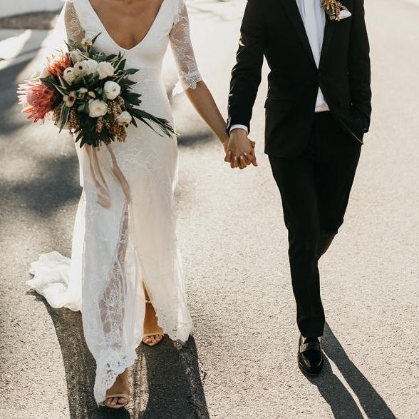 The Most Flattering Wedding Dress Styles If You're Under 5'2""