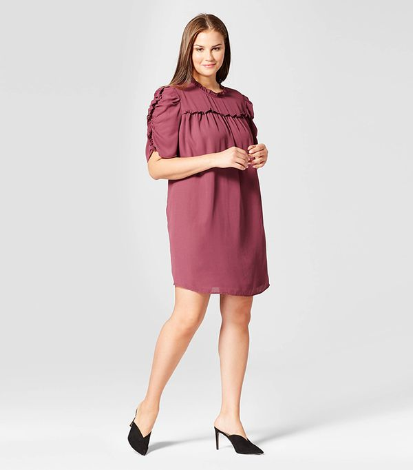 Plus Size Drapey Doll Dress