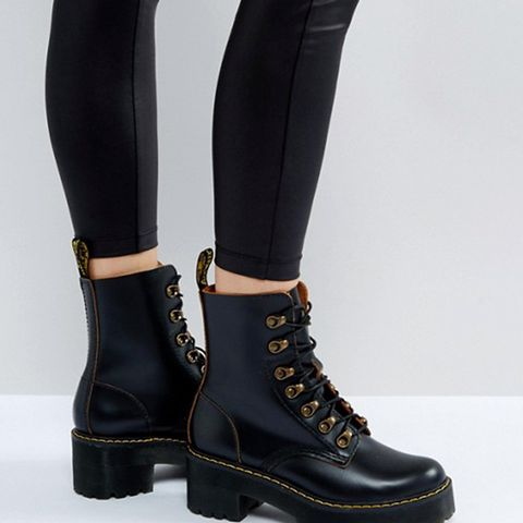 Leona Hiker Chunky Lace Up Ankle Boots