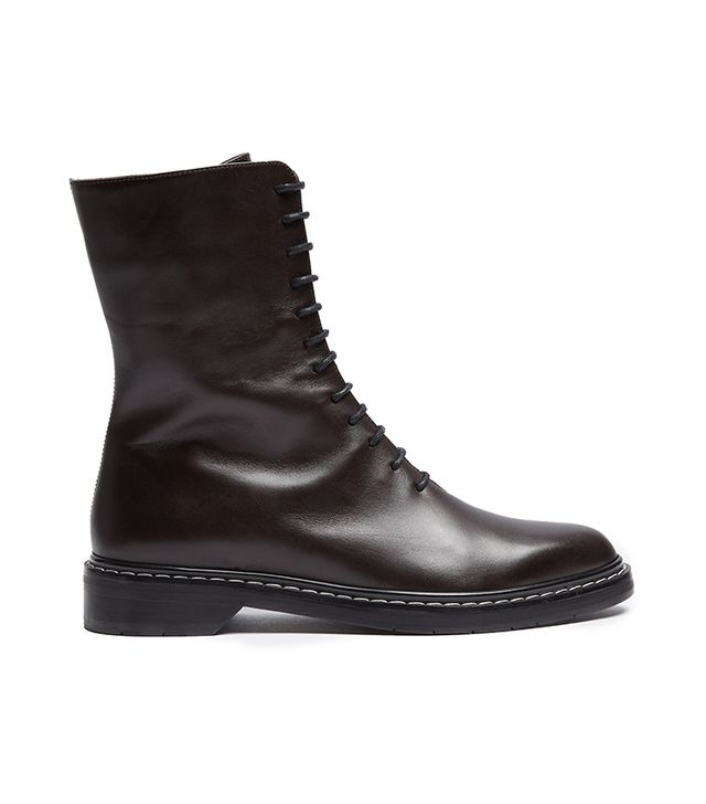 Fara lace-up leather boots
