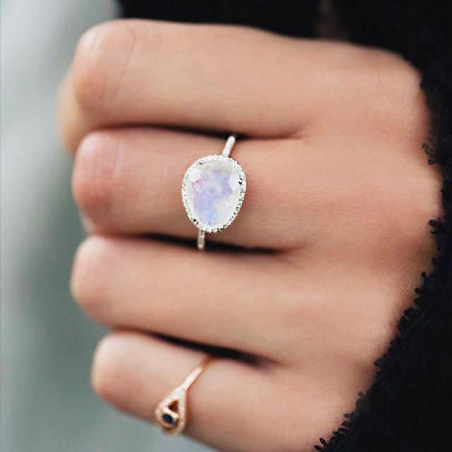 It's not surprising that moonstones have become a favourite among jewellery wearers and designers alike. The semi-precious stone's unique aduralescence—a phenomenon whereby the stone's...