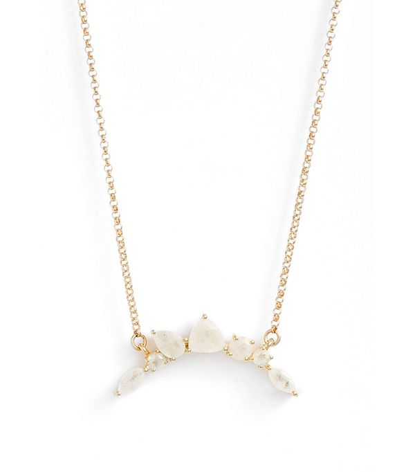 Women's Leah Alexandra Moonstone Pendant Necklace