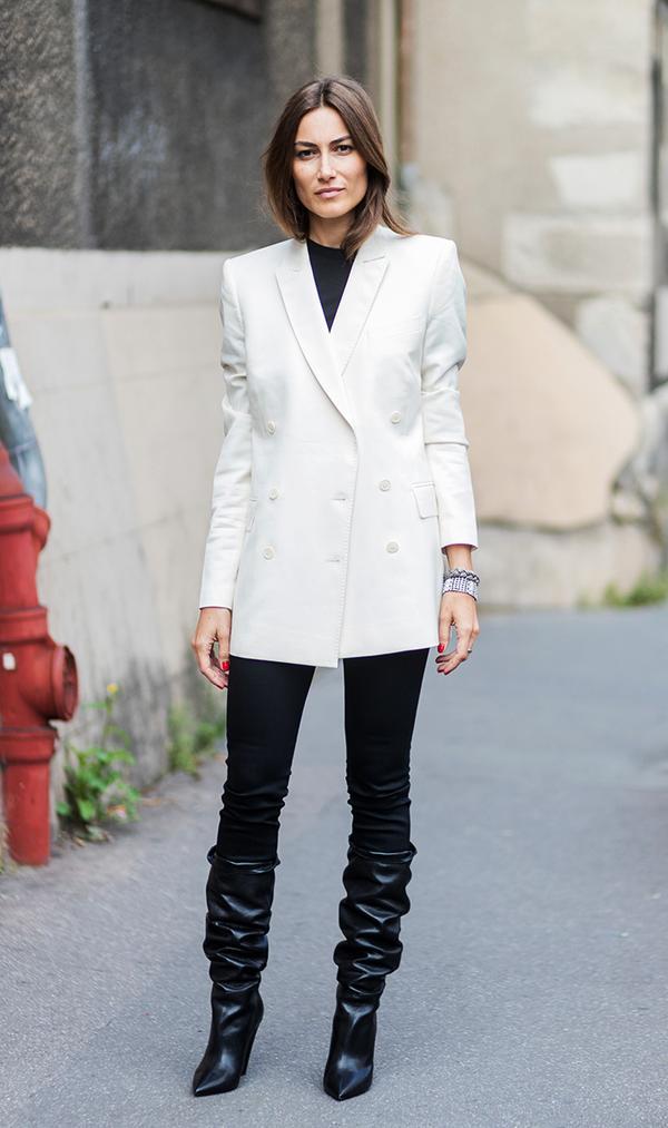 how to wear a blazer