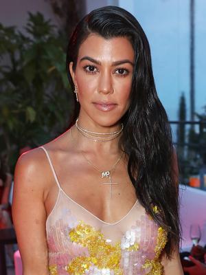 Kourtney Kardashian's 2-Step Haircare Routine Is Surprisingly Low-Maintenance