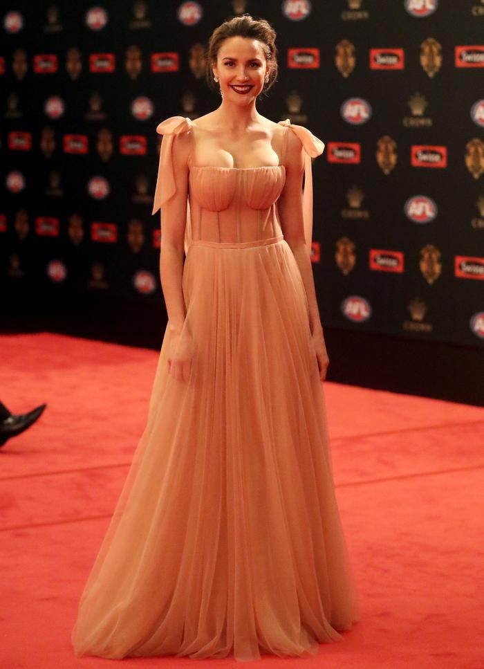 Rachael Finch Brownlow Awards red carpet