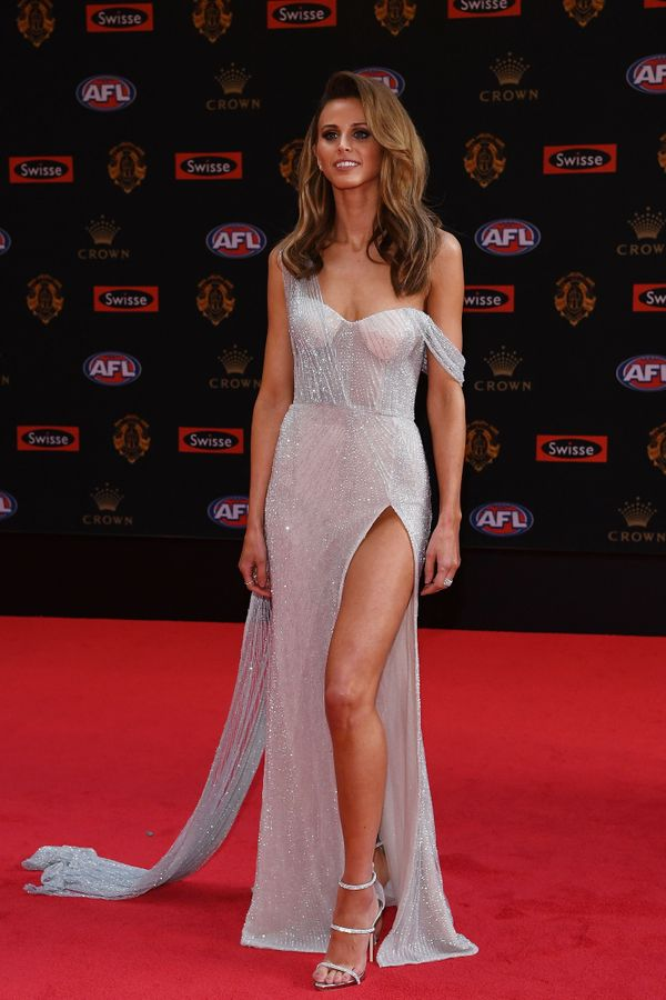 Brit Davis Brownlow Awards red carpet