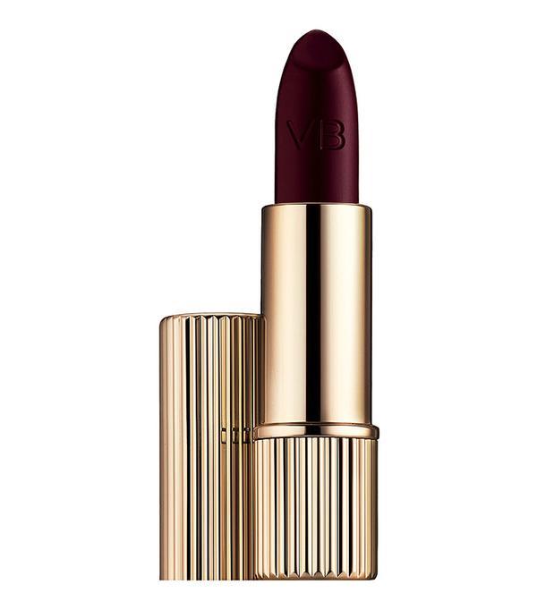 Best dark lipstick: Victoria Beckham X Estee Lauder Matte Lipstick in Black Cassis
