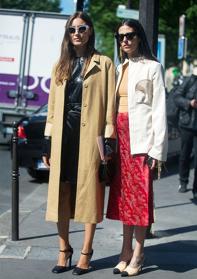 Street style best friends: Gilda Ambrosio and Giorgia Tordini