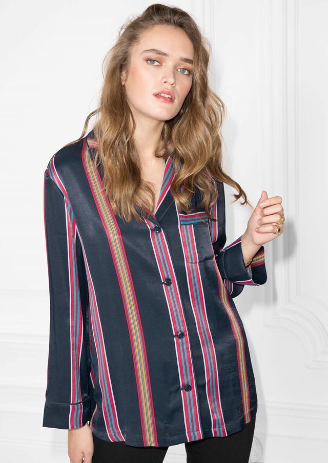 & Other Storeis Striped Shirt