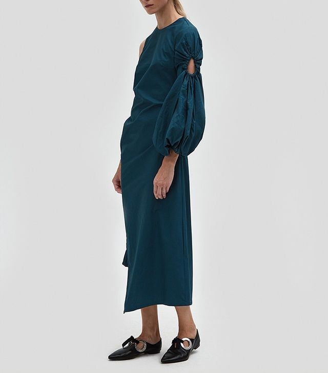 Marquis Dress in Teal
