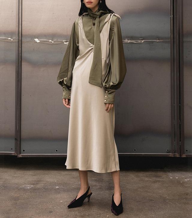 Loeil Duchess Dress