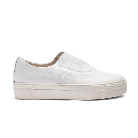 Fabl Slip-On Leather Trainers