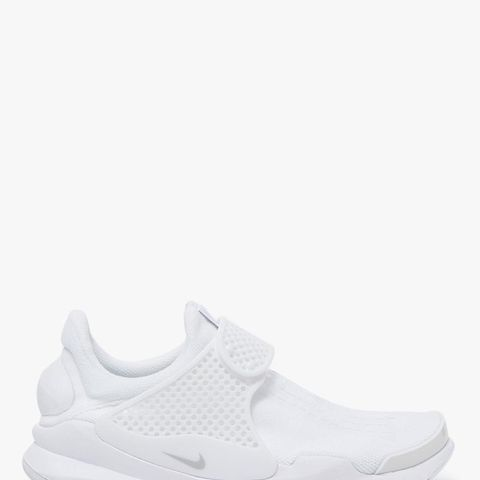 Sock Dart Shoes in White/Pure Platinum