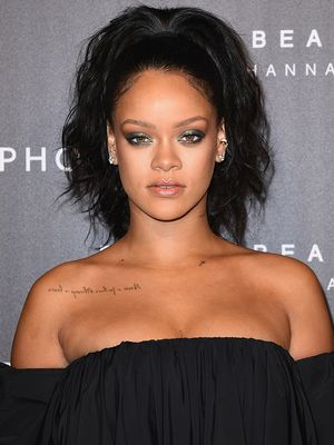 Rihanna on Lipstick, Hair Idols, and Her Favorite Body Part