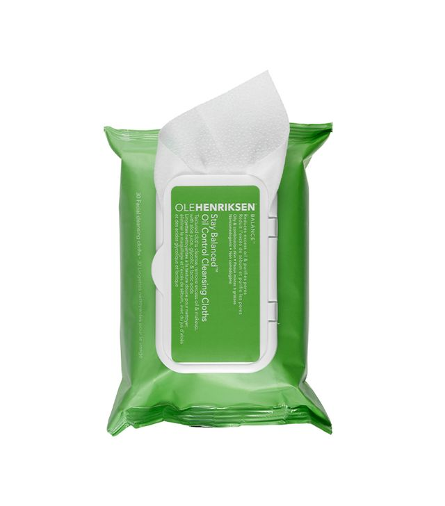 Stay Balanced(TM) Oil Control Cleansing Cloths 10 facial cleansing cloths