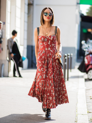 This Is The Reason Why Fashion Girls Are Wearing This Skirt in Paris Today