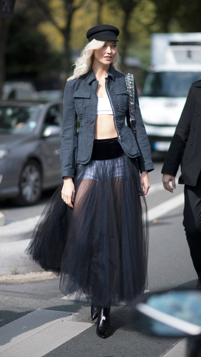 Karlie Kloss in Paris for Fashion Week