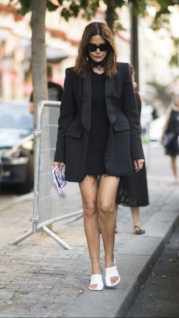 Christine Centenera Fashion Week Outfits 2017