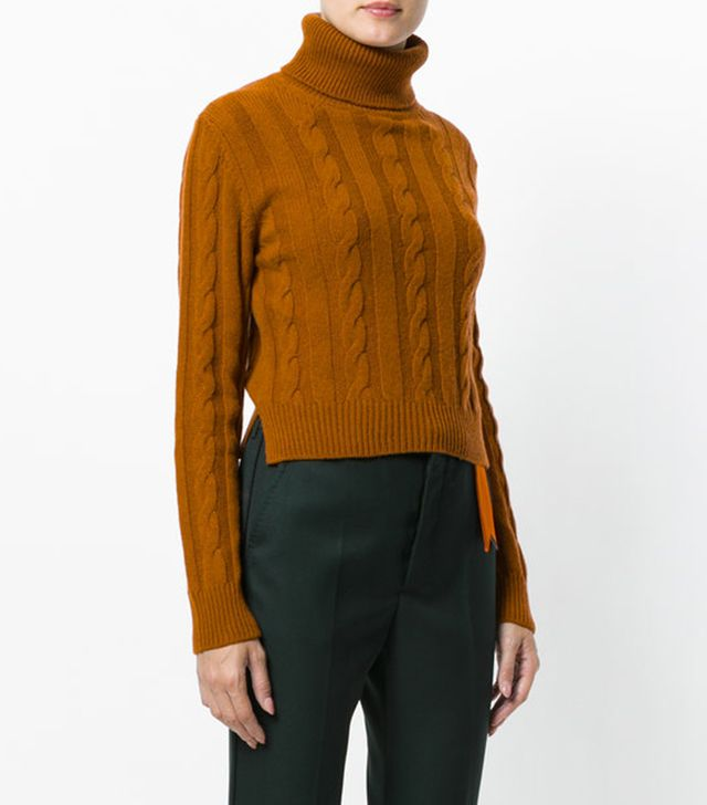 The Gigi Cable Knit Turtleneck Jumper