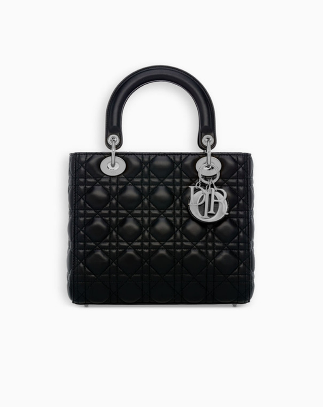Dior Lady Dior Bag in Black Lambskin (Available in Store)