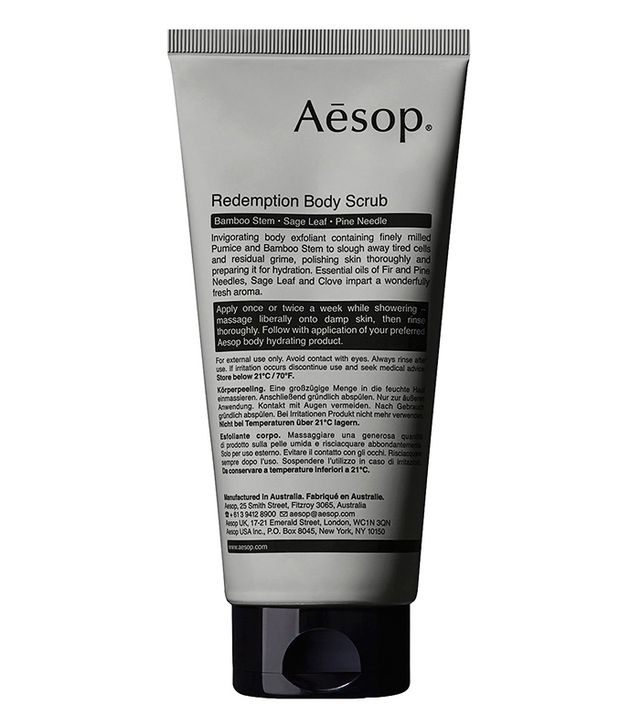 How to tan in winter: Aesop Redemption Body Scrub