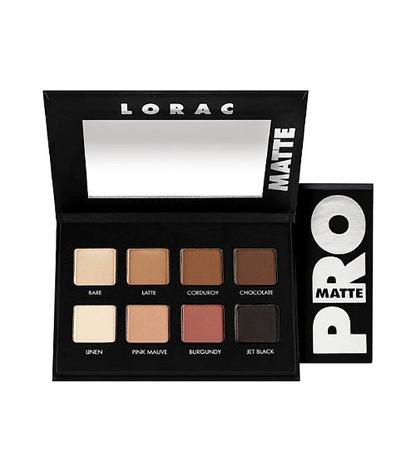 Lorac PRO Matte Palette - matte eyeshadow palette