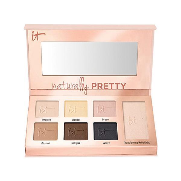 IT Cosmetics Naturally Pretty Essentials Luxe Transforming Eyeshadow Palette - matte eyeshadow palette