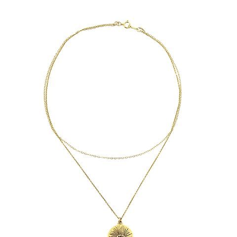 Eyenamour Double Necklace
