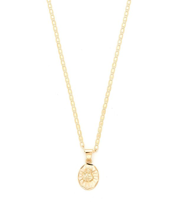 Son of Man Charm Necklace