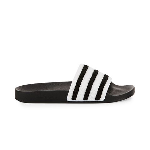 Adilette Striped Slide Sandals