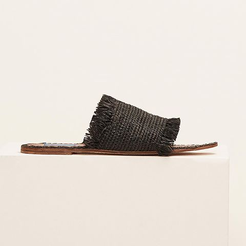 Proud Mary Fringe Slide Sandals