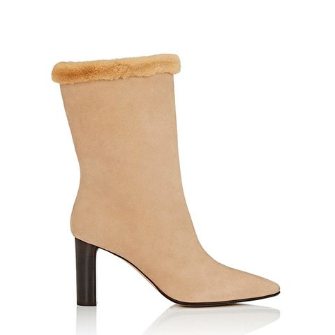 Emil Suede Mid-Calf Boots