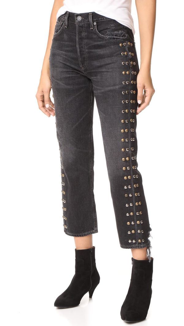 Gia Studded Jeans