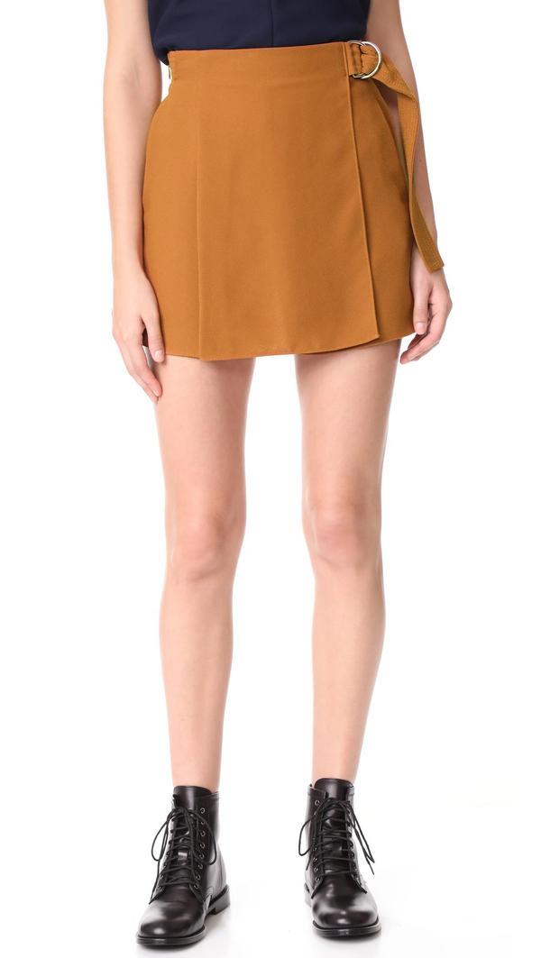 Draped Shorts