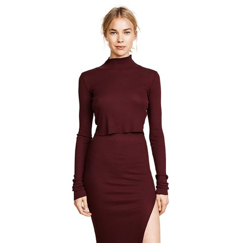 The Melbourne Crop Ribbed Turtleneck