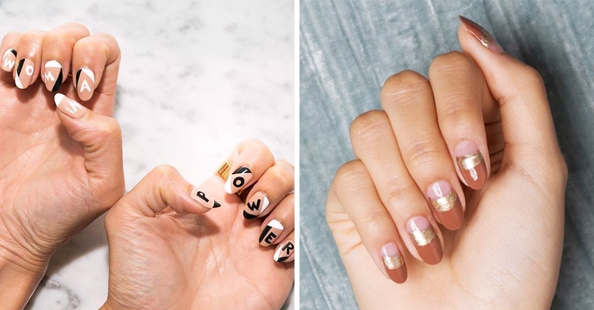 10 of the best fall nail art designs byrdie prinsesfo Image collections