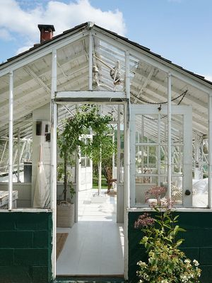 Step Inside Emily Henderson's Latest Greenhouse Transformation