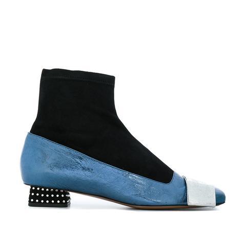 Colour-Block Boots
