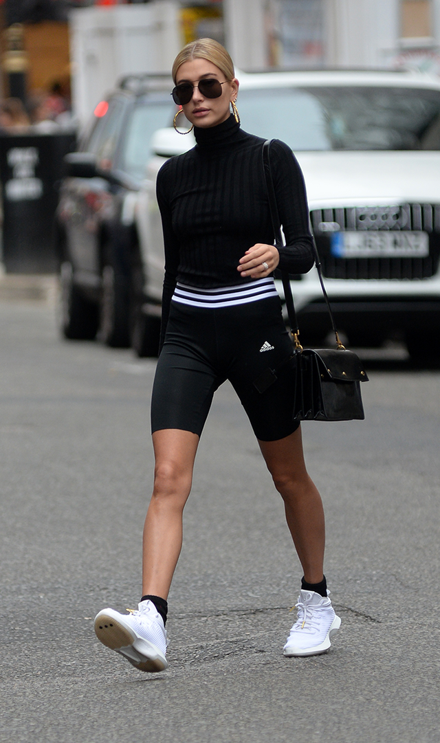 we're sorry but bike shorts are now a thing  whowhatwear uk